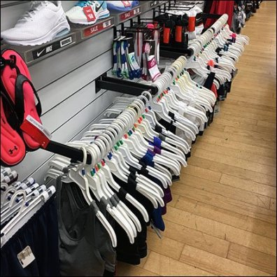 Ground Level Sports Bra Bar Merchandising