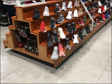 Ground-Level Display Hook Merchandising