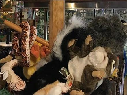 Folkmanis Hand Puppet Farm Store Display