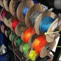 Lacrosse Mesh Stringing Supply Spools by Jimalax