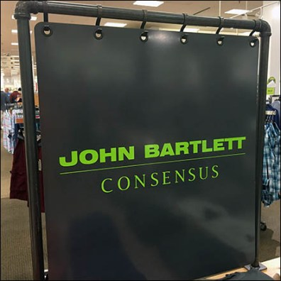 John Bartlett Branded Backdrop Feature