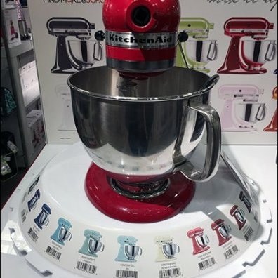 KitchenAid Point-of-Purchase Carousel Imprinted
