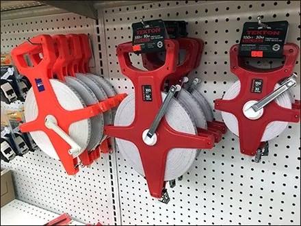 Tight Fit On Surveyors Tape Pegboard Hooks