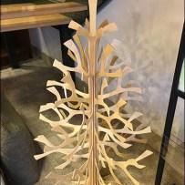 Laser-Cut Wood Christmas Tree At Dane Decor
