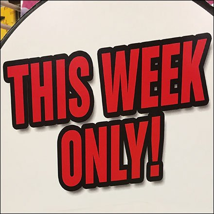 Lego This Week Only Feature