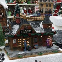 Christmas Village Landscapes Add Motion