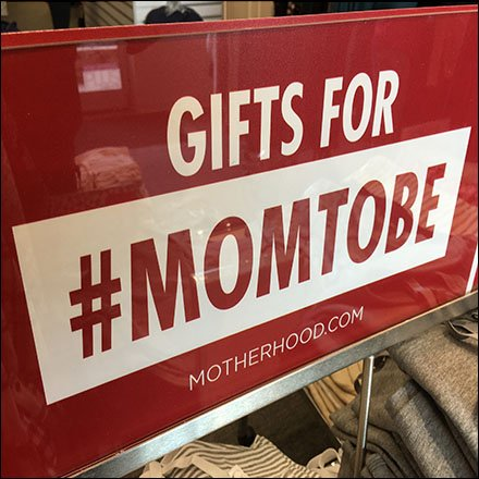 #MomToBe Hashtag at Motherhood Maternity