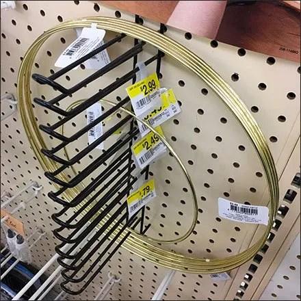 Ganged Multiple Hook Store Fixtures - Multi-Hook Loop Hook Vertical Array