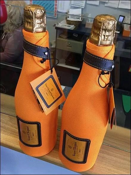 New Year's Eve Champagne Ice Jacket Promo
