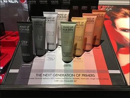 Next Generation Makeup Primers Color Coded