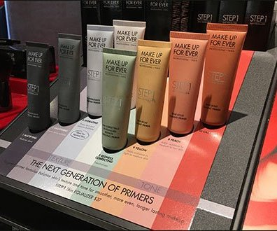 Next Generation Makeup Primers Color Coded