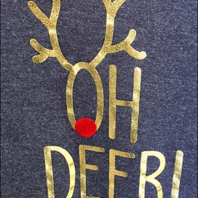 I'm Pregnant, Oh Deer Holiday Exclamation
