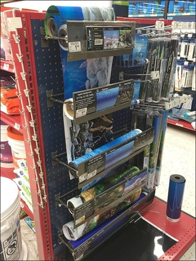 Seaview Landscape Roll Dispensers for Pegboard