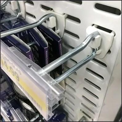 Sunglass Straight-Entry Scan Hooks Span Slots