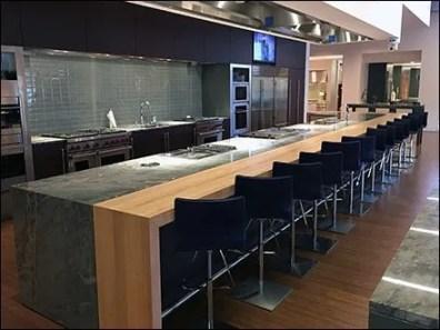 Sub-Zero Showroom Cooking Class Center