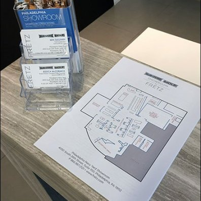 Sub-Zero Showroom Layout Map Handout