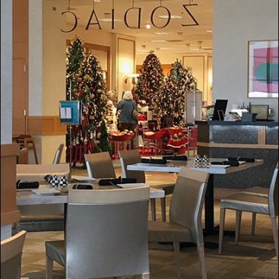 Zodiac Cafe Christmas at Neiman Marcus