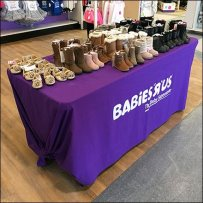 Babies R Us SuperStore Table Drape