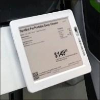 Digital Price Ticket for Robotic Sales