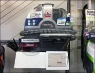 Bissell SpotBot Pet Robot Display