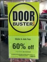 Door Buster Faceout Sign Holder