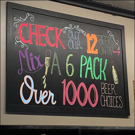 Goldsteins Deli 1,000 Beer Choices Features