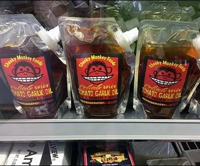 Cheeky Monkey Gusset Pouch Merchandising