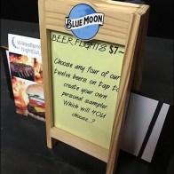 Deli Table-Top Menu Easel by Blue Moon