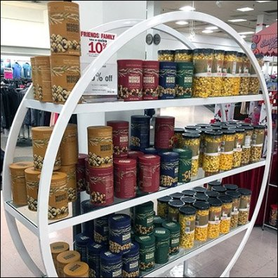 Gourmet Popcorn Hoop Rack Feature