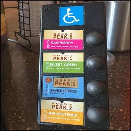 Handicapped Tea Dispenser By Gold Peak Brand