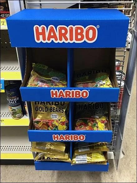 Haribo Half-Height PowerWing Promotion