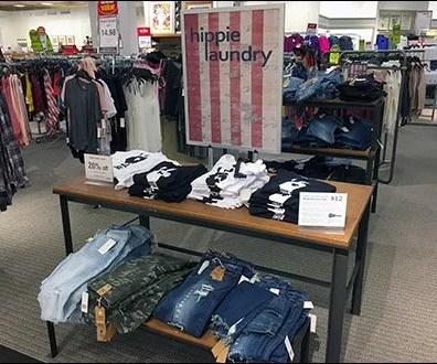 Hippie Laundry Rustic Patriotic Branding