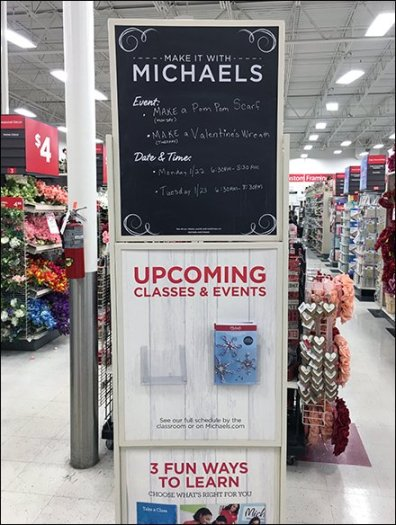 Make It With Michaels Calendar Events 2