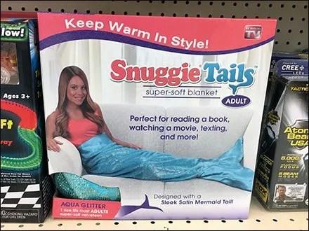 Mermaid Tail Merchandising At Shelf Edge