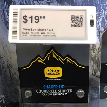 Otter Box Shaker Lid Digital Price Ticket Feature