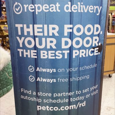 Repeat Pet Food Delivery Scheduling Online