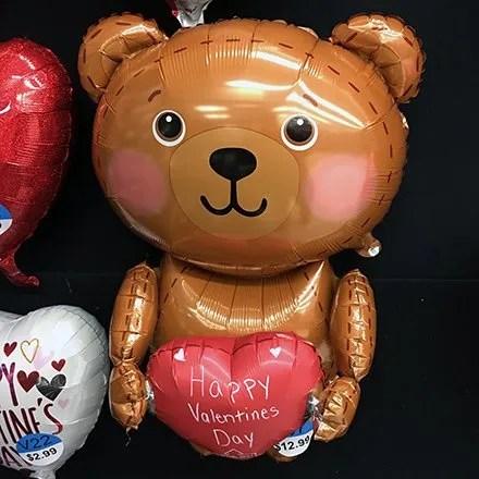 Teddy Bear Inflatable Balloon Feature