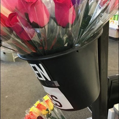 Roses By The Bucket For Valentines Day