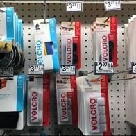 Velcro Center Branding at Lowes