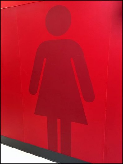 Gender Silhouettes As Restroom Signage