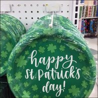 Back Labeled Display Hooks for St. Patrick's Day