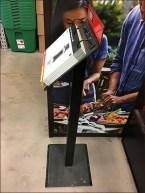 Branded Catalog Floorstand For Webber Grills 2