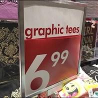 Kids Graphic T-Shirts Mass Merchandised