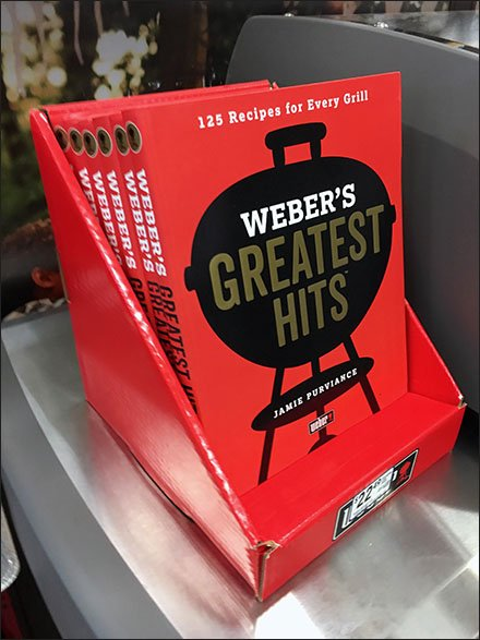 Greatest Grilling Hits Recipe Book By Weber