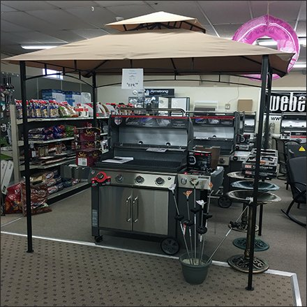 Grilling Gazebo In-Store Demonstration