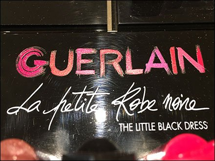Guerlain Little Black Dress Brands With Color & Shape