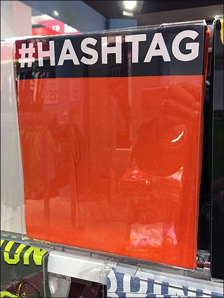 Hashtag T-Shirt Personalization Promotion