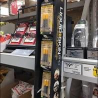 Corrugated Strip Merchandiser For Pallet Rack