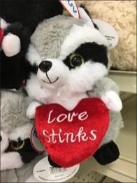 Love Stinks Skunk Strip Merchandiser