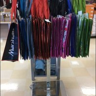 T-Stand For Branded Oversize Shopping Carries